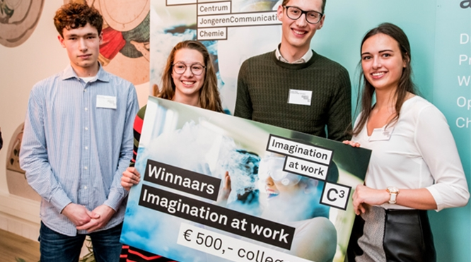 Winnaars Imagination at Work 2018-2019